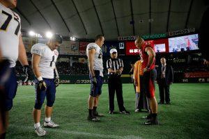 2016 Japan X Bowl. Obic Seagulls vs. Fujitsu Frontiers. Pregame.