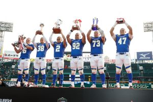 71st Koshien Bowl. Kwansei Gakuin University Fighters vs. Waseda University Big Bears.